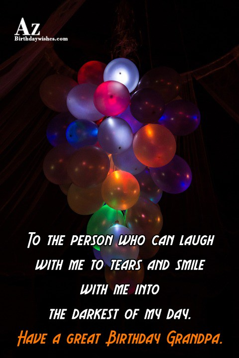 To the person who can laugh with me to… - AZBirthdayWishes.com