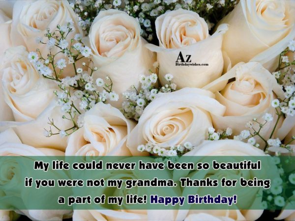 My life could never have been so beautiful if… - AZBirthdayWishes.com