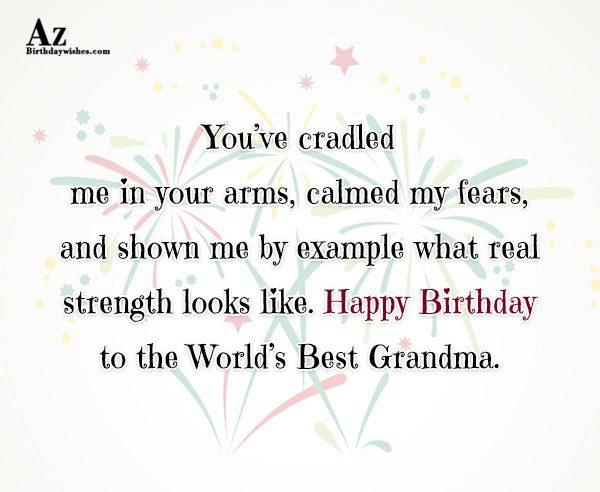 You ve cradled me in your arms calmed my… - AZBirthdayWishes.com