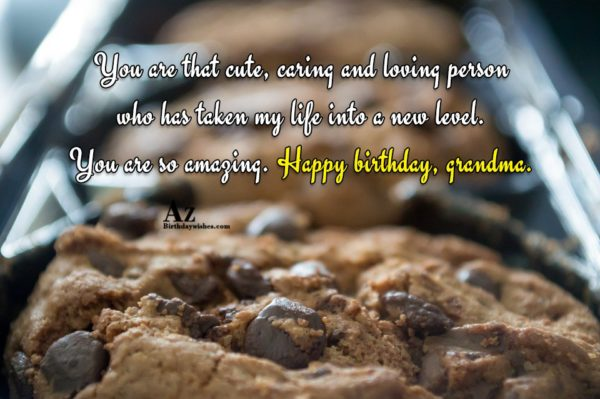 You are that cute caring and loving person who… - AZBirthdayWishes.com