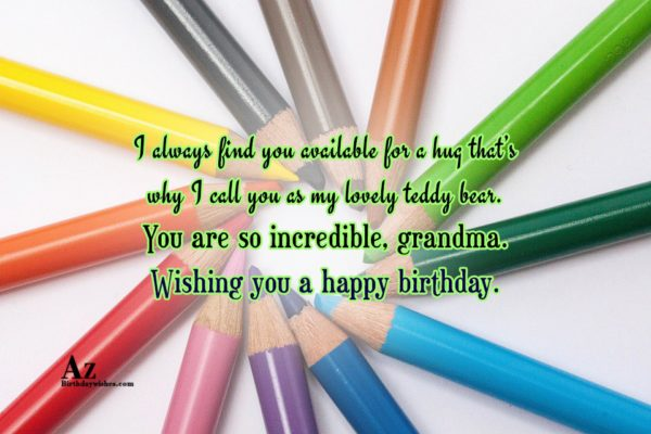 I always find you available for a hug that… - AZBirthdayWishes.com