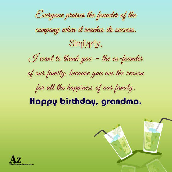 Everyone praises the founder of the company when it… - AZBirthdayWishes.com