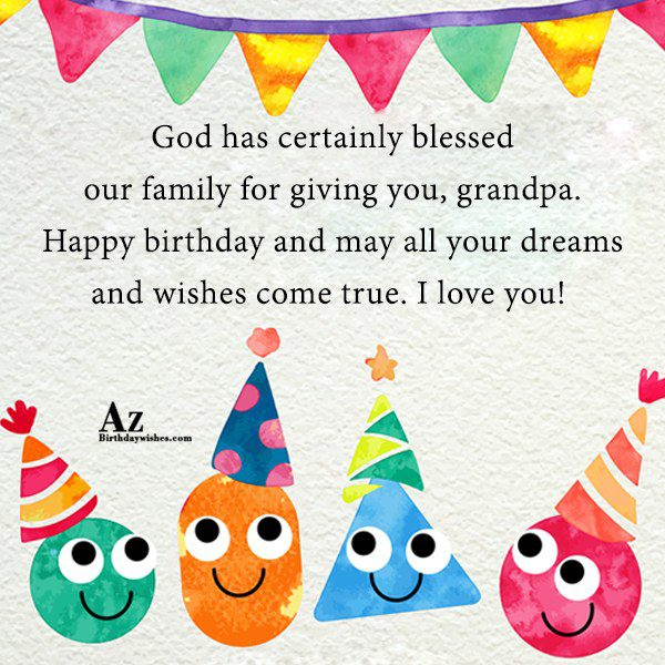 God has certainly blessed our family for giving you… - AZBirthdayWishes.com
