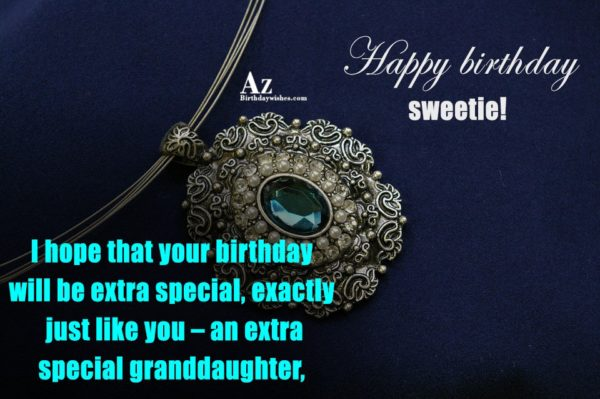 I hope that your birthday will be extra special… - AZBirthdayWishes.com