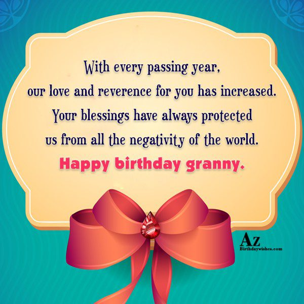 With every passing year our love and reverence for… - AZBirthdayWishes.com