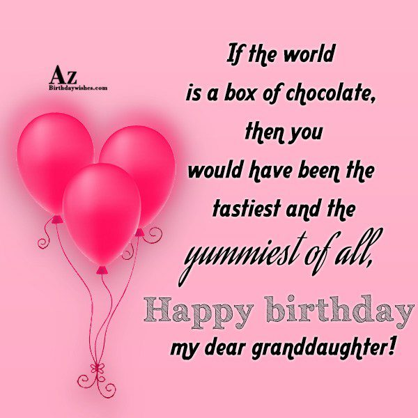 If the world is a box of chocolate then… - AZBirthdayWishes.com