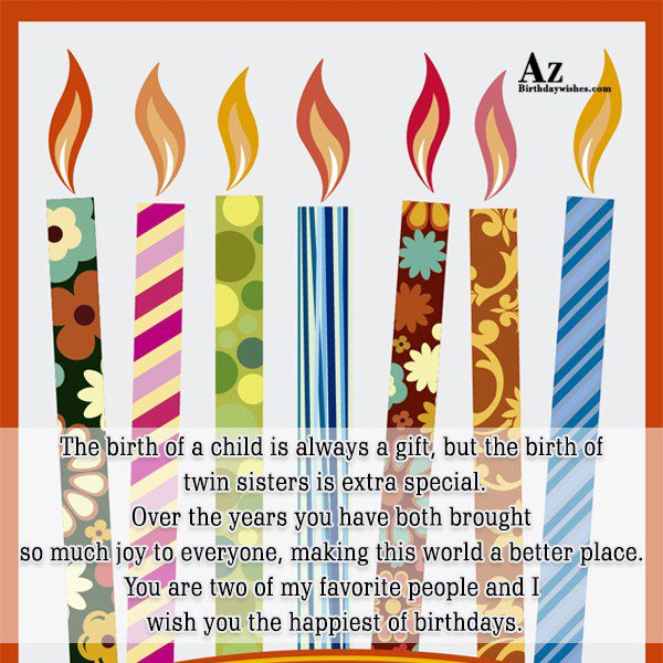 The birth of a child is always a gift… - AZBirthdayWishes.com