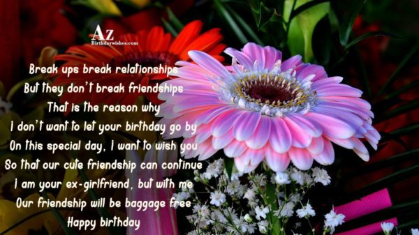 Break ups break relationships But they don t break… - AZBirthdayWishes.com