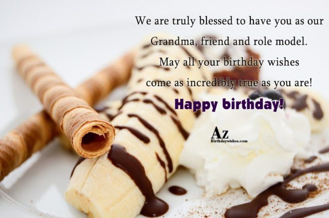 We are truly blessed to have you as our… - AZBirthdayWishes.com