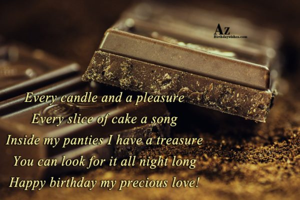 Every candle and a pleasure Every slice of cake… - AZBirthdayWishes.com