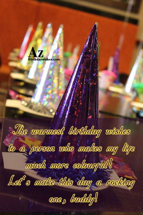 The warmest birthday wishes to a person… - AZBirthdayWishes.com