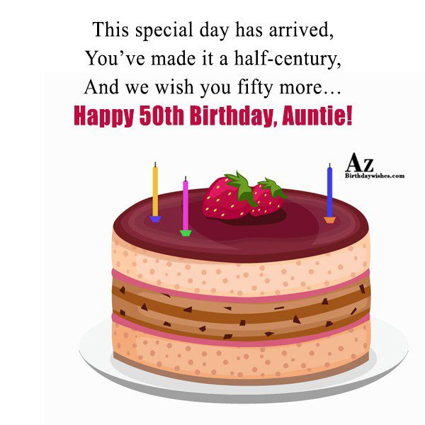 This special day has arrived… - AZBirthdayWishes.com