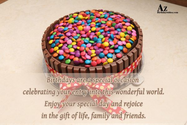 Birthdays are a special occasion celebrating… - AZBirthdayWishes.com