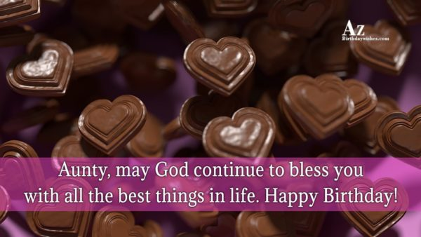 May God continue to bless you with all the best things… - AZBirthdayWishes.com