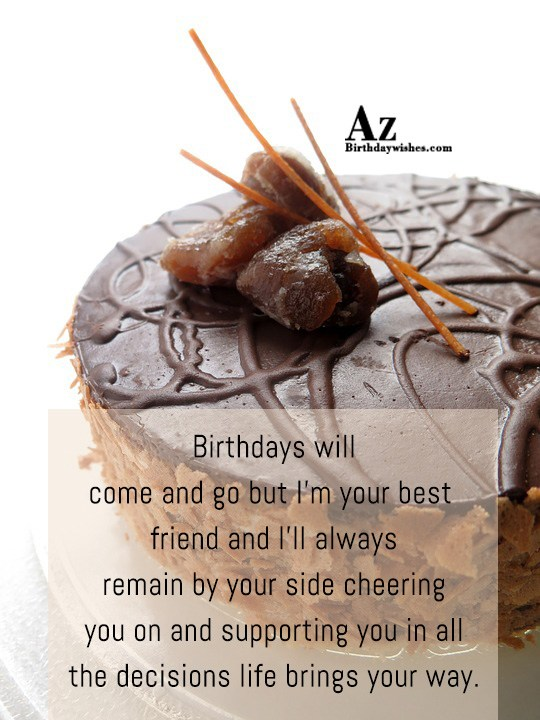 Birthdays will come and go but… - AZBirthdayWishes.com