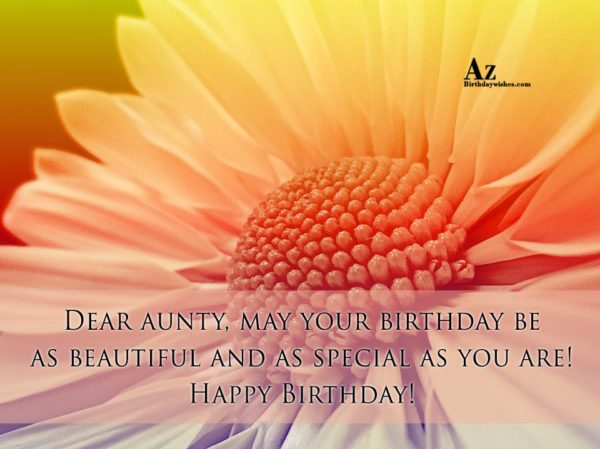 May your birthday be as beautiful and as… - AZBirthdayWishes.com