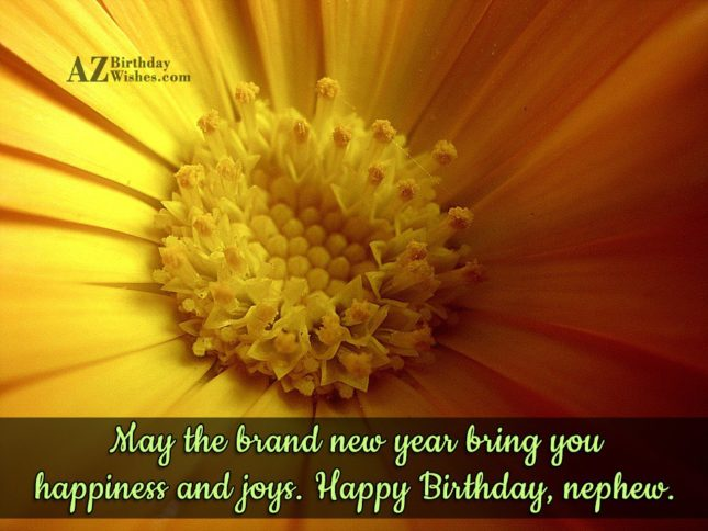 May the brand new year bring you… - AZBirthdayWishes.com