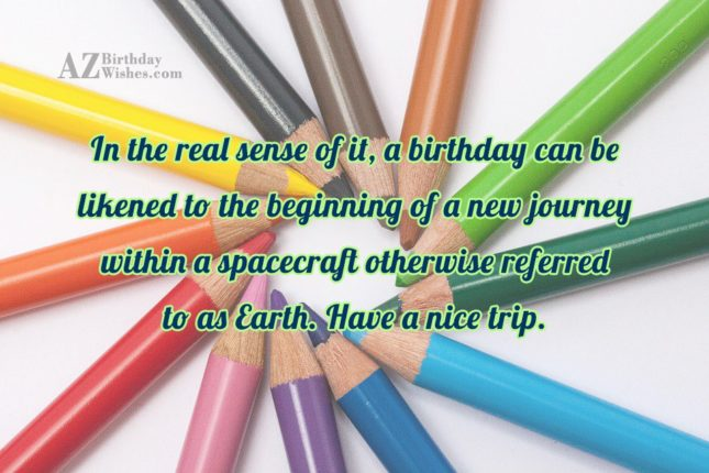 In the real sense of it, a… - AZBirthdayWishes.com