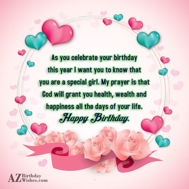 As you celebrate your birthday this year… - AZBirthdayWishes.com