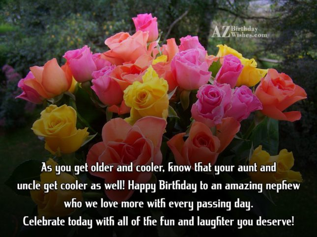 As you get older and cooler, know… - AZBirthdayWishes.com