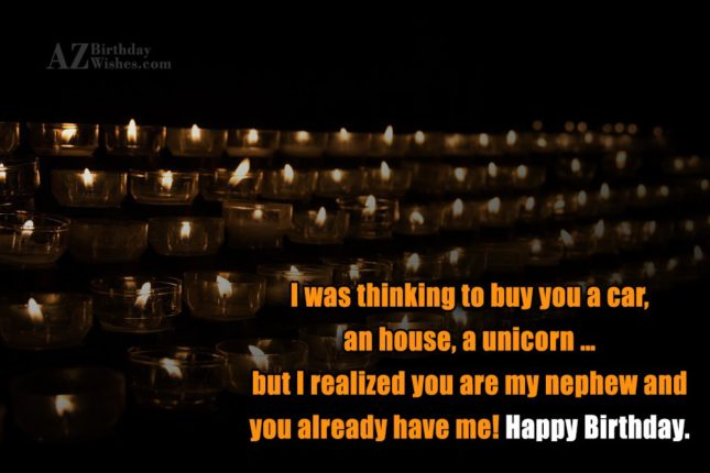 I was thinking to buy you a… - AZBirthdayWishes.com