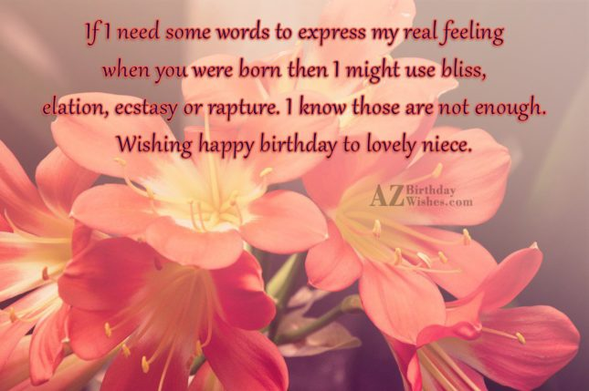 If I need some words to express… - AZBirthdayWishes.com