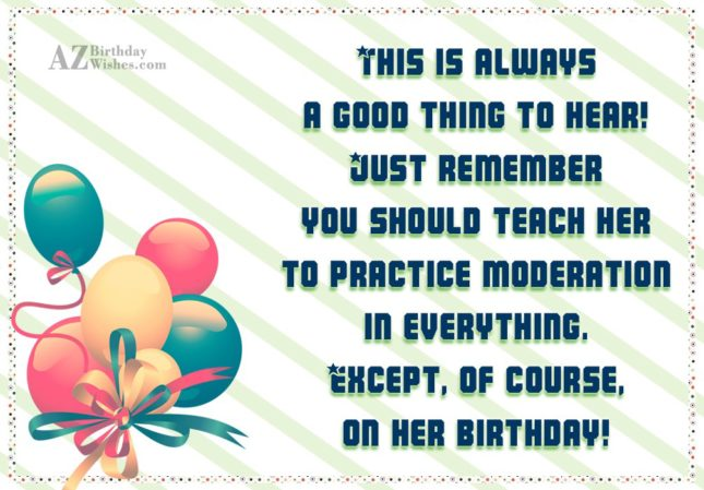 This is always a good thing to… - AZBirthdayWishes.com