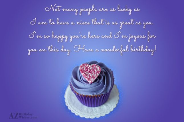 Not many people are as lucky as… - AZBirthdayWishes.com