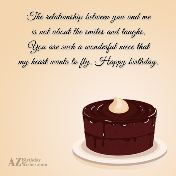 The relationship between you and me is… - AZBirthdayWishes.com