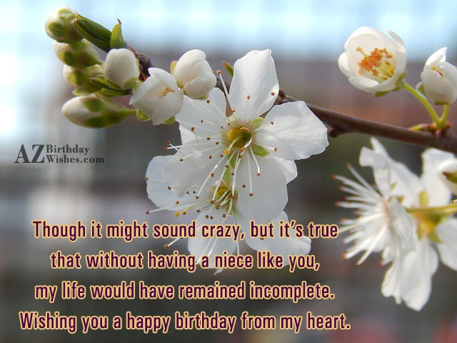 Though it might sound crazy, but it's… - AZBirthdayWishes.com