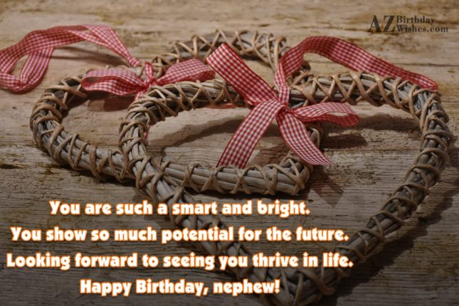 You are such a smart and bright…. - AZBirthdayWishes.com
