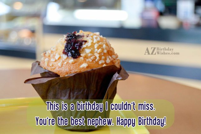 This is a birthday I couldn't miss…. - AZBirthdayWishes.com