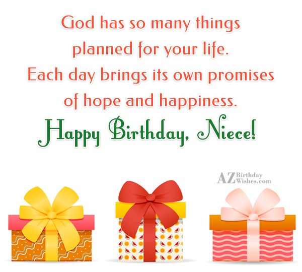 God has so many things planned for… - AZBirthdayWishes.com