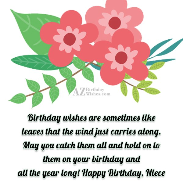 Birthday wishes are sometimes like leaves that… - AZBirthdayWishes.com