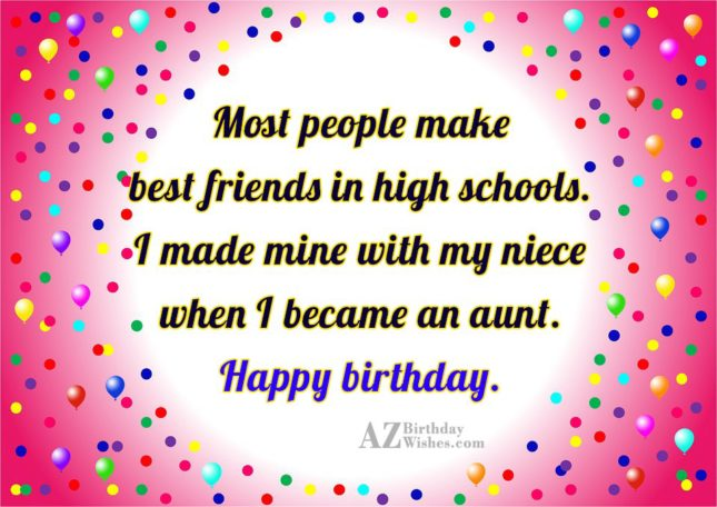 Most people make best friends in high… - AZBirthdayWishes.com