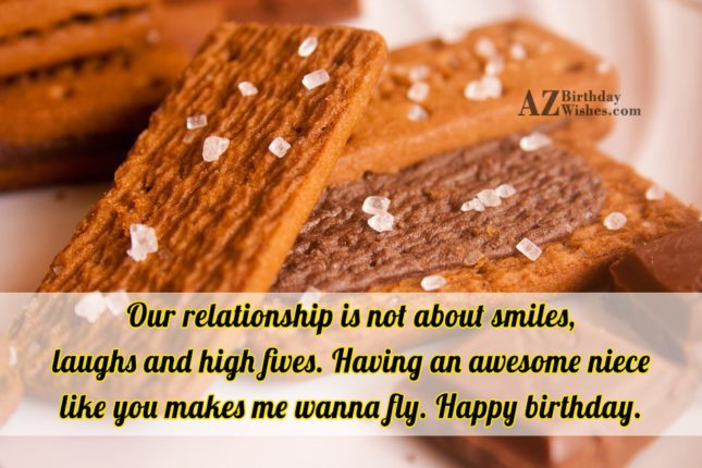 Our relationship is not about smiles, laughs… - AZBirthdayWishes.com