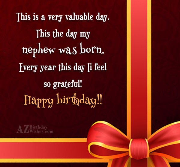 This is a very valuable day. This… - AZBirthdayWishes.com