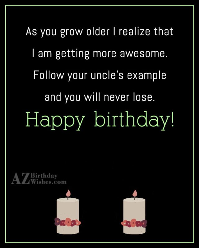 As you grow older I realize that… - AZBirthdayWishes.com