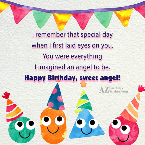 I remember that special day when I… - AZBirthdayWishes.com
