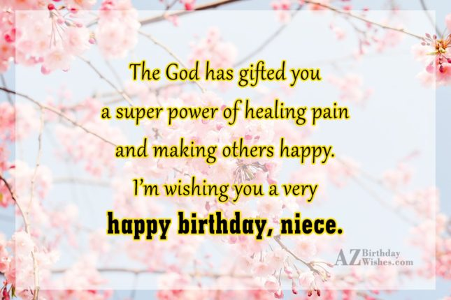 The God has gifted you a super… - AZBirthdayWishes.com