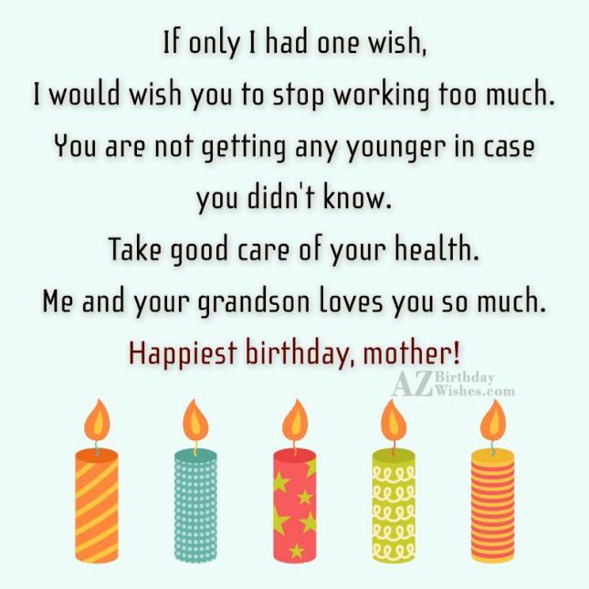 If only I had one wish, I… - AZBirthdayWishes.com