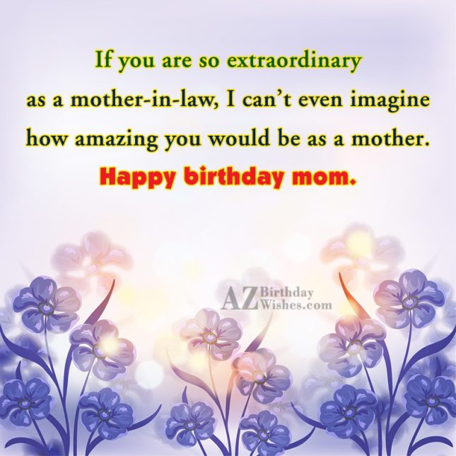 If you are so extraordinary as a… - AZBirthdayWishes.com
