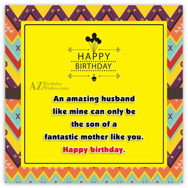 An amazing husband like mine can only… - AZBirthdayWishes.com