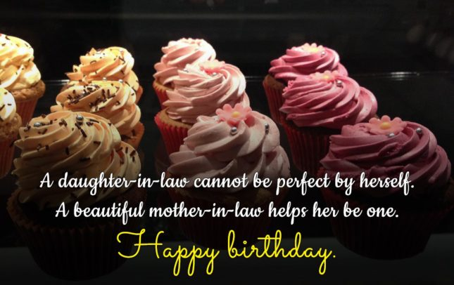 A daughter-in-law cannot be perfect by herself…. - AZBirthdayWishes.com