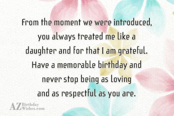 From the moment we were introduced, you… - AZBirthdayWishes.com