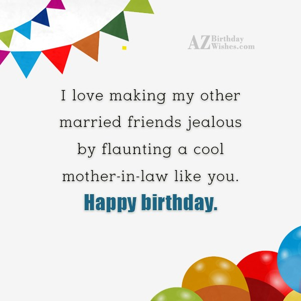 I love making my other married friends… - AZBirthdayWishes.com