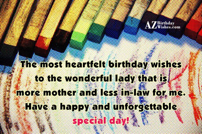 The most heartfelt birthday wishes to the… - AZBirthdayWishes.com