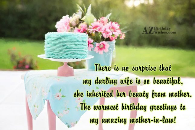 There is no surprise that my darling… - AZBirthdayWishes.com