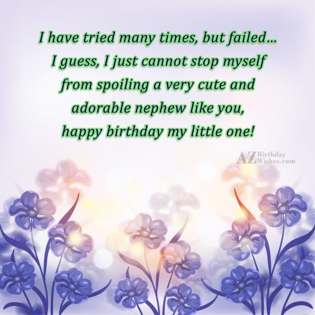 I have tried many times, but failed…… - AZBirthdayWishes.com