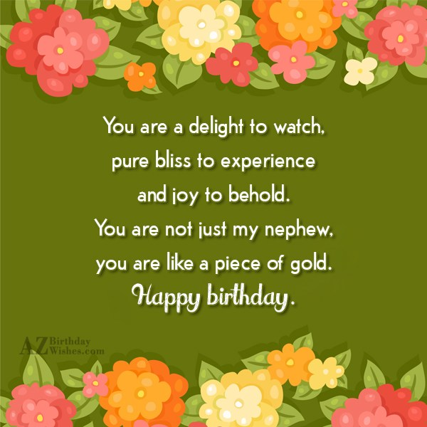 You are a delight to watch, pure… - AZBirthdayWishes.com